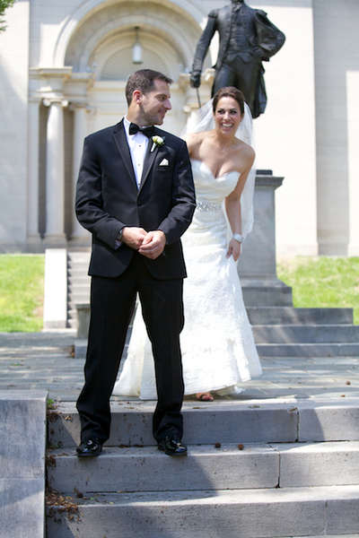 Colton Chapel, Lafayette College wedding