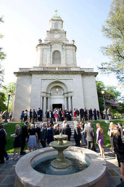 Lafayette College wedding photo of Colton Chapel