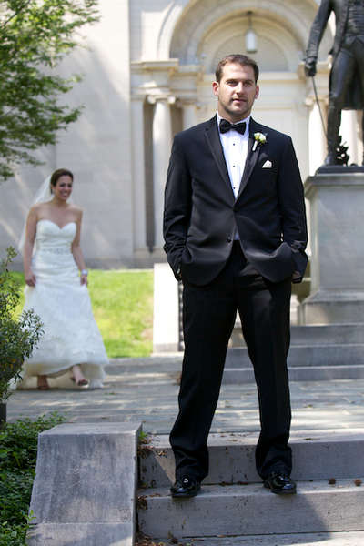 Lafayette College wedding photo at Colton Chapel