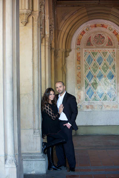 Central Park engagement photography by Armen Elliott