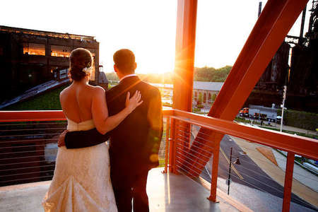 Artsquest steelstacks wedding