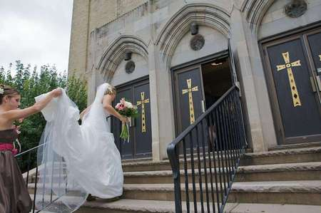 Wedding at Saint Matthews Catholic Church, East Stroudsburg, PA
